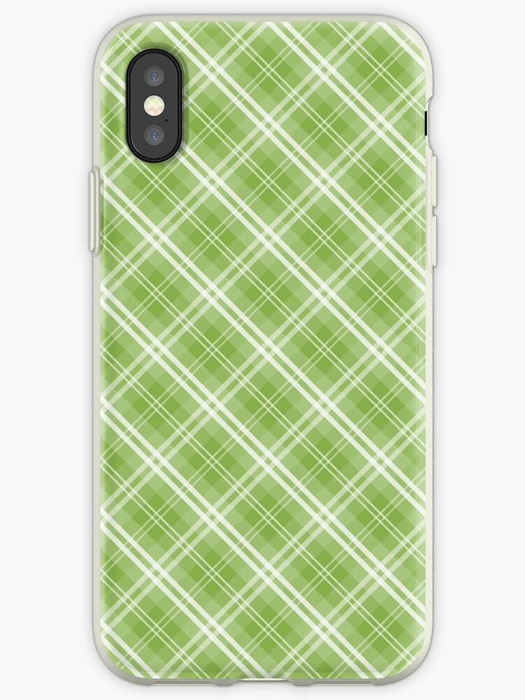 Color of the Year Pantone 2017 Designer Colors Greenery Tartan Plaid by podartist
