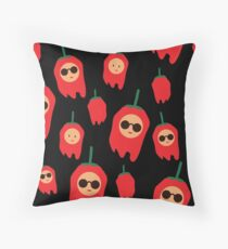 TFxF  Mad bell pepper Throw Pillow