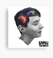 Dan- universal minds (white) Canvas Print
