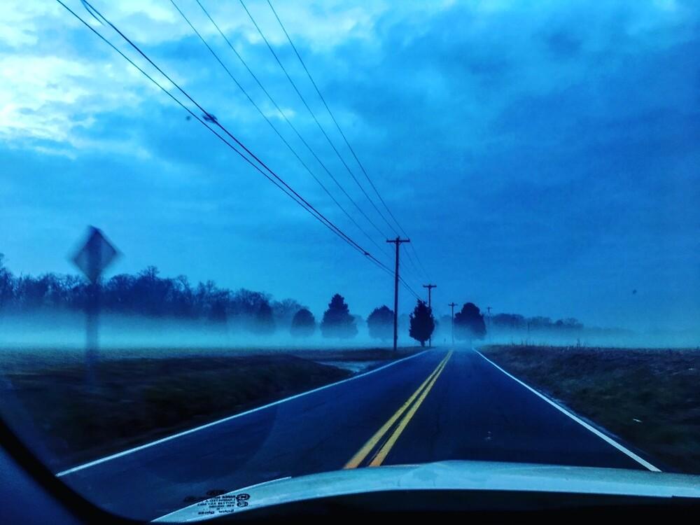 Foggy Maryland Lanes by skdancer