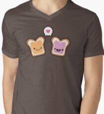PB&J Love Men's V-Neck T-Shirt