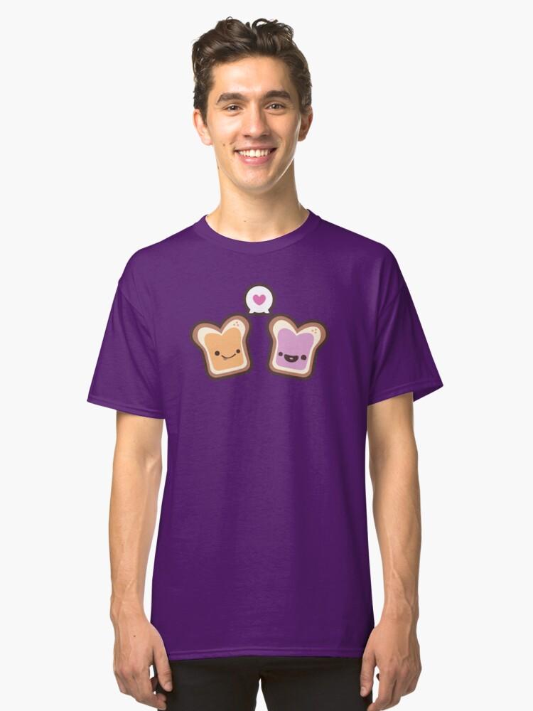PB&J Love Classic T-Shirt Front