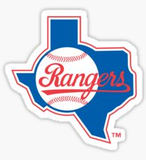 Rangers Baseball Sticker
