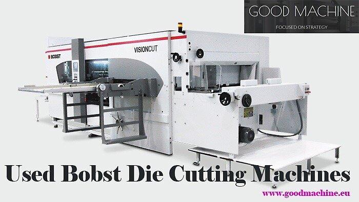 Used Bobst Die Cutting Machines from goodmachine.eu by goodmachine