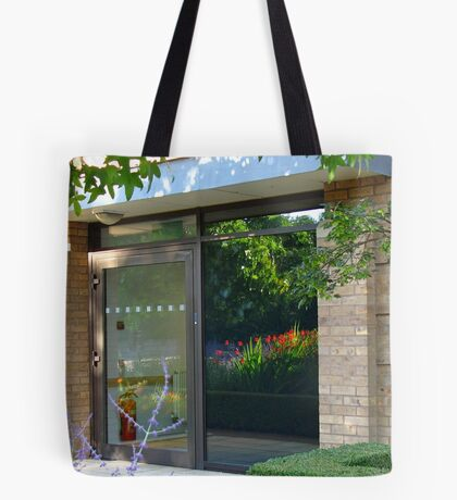 The Garden Within - Beautiful Door Reflection Tote Bag