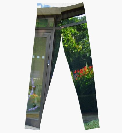 The Garden Within - Beautiful Door Reflection Leggings