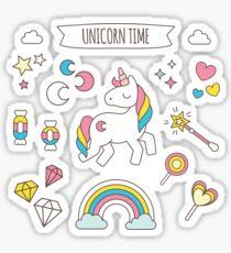 Unicorn Time Sticker