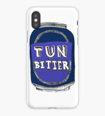Tun Bitter (Blue) iPhone Case/Skin