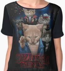 stranger things Women's Chiffon Top