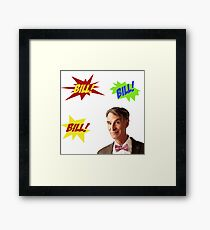 Bill Nye, the Science Guy Framed Print