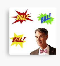 Bill Nye, the Science Guy Canvas Print