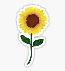 Sunflower - Sticker Sticker