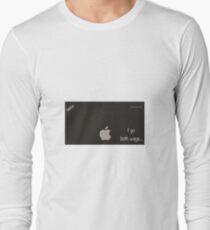 Sexy computer nerd Long Sleeve T-Shirt