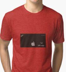 Sexy computer nerd Tri-blend T-Shirt