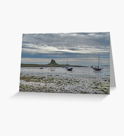 Across The Mud Flats Greeting Card