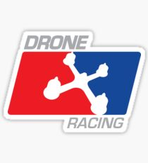 Drone Racing Sticker