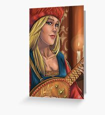 The Wolven Storm Greeting Card