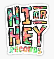 hi or heyyyy Sticker