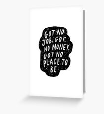My Life Right Now Greeting Card