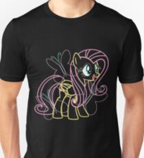 Fluttershy and Cutie Mark Inspired Unisex T-Shirt