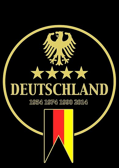 Deutschland Champions von Calum Margetts Illustration