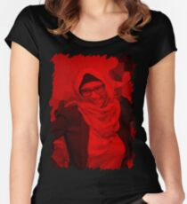 Mia Khalifa - Celebrity (Porn Star) Women's Fitted Scoop T-Shirt