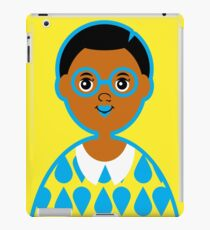 Girl 3 - Goggles and Raindrops iPad Case/Skin