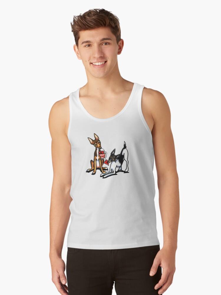 Rat Terrier Sweethearts by offleashart