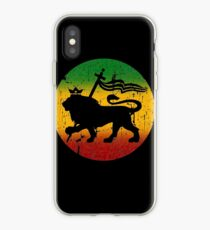 Lion of Judah Rasta Reggae Music Design iPhone Case