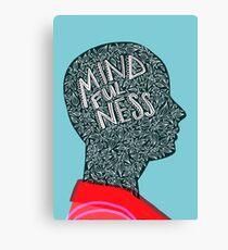 Midfulness Grows Canvas Print