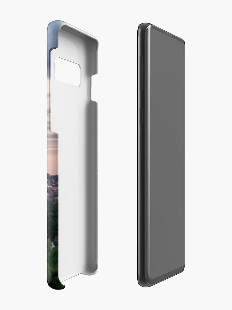 Alternate view of Norwich City Skyline Case & Skin for Samsung Galaxy