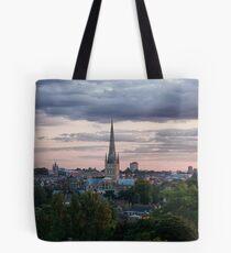 Norwich City Skyline Tote Bag