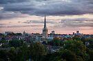 Norwich City Skyline by Ruski