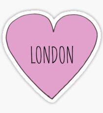 London Love Sticker