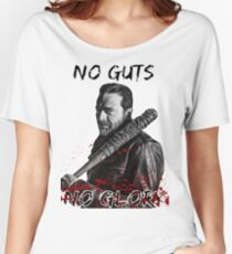 The Walking Dead Negan - No Guts No Glory Women's Relaxed Fit T-Shirt