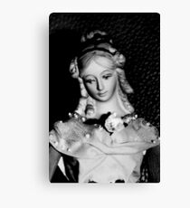 Antique replica Victorian Mannekin Bisque doll Canvas Print