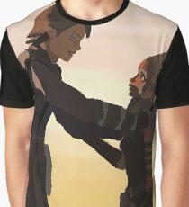 Anakin and Ahsoka Graphic T-Shirt