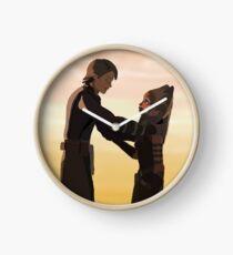Anakin and Ahsoka Clock