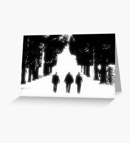 Three Is Company Greeting Card