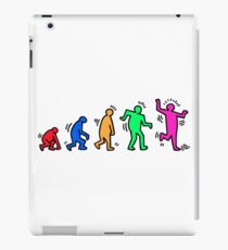 HARING EVOLVES by Tai's Tees iPad Case/Skin