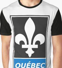 Québec - Fleur de lis Graphic T-Shirt