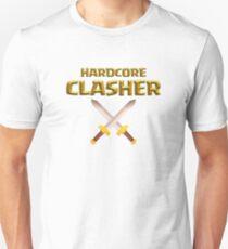 Hardcore Clasher Royal Barbarian Swords T-Shirt