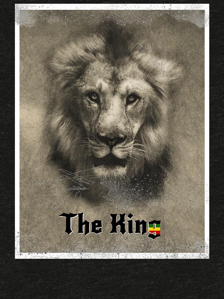 Lion of Judah Rasta Reggae Music Art Design by roarr