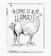 Como Se Llama Funny Spanish Humor iPad Case/Skin