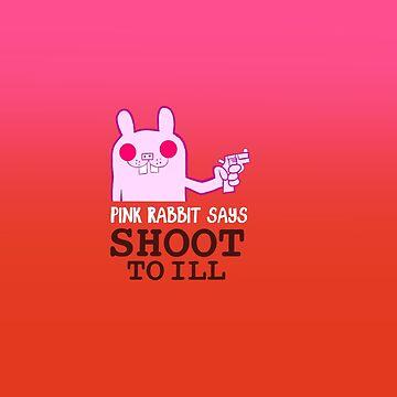 Pink Rabbit says shoot to ill - Gorillaz by sirllamalot