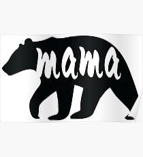 mother bear Poster