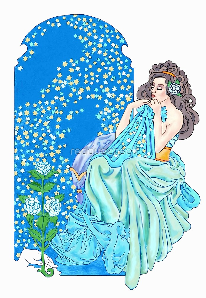 Blanket of Stars  by redqueenself