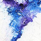 Blue and black abstract by Simon Rudd