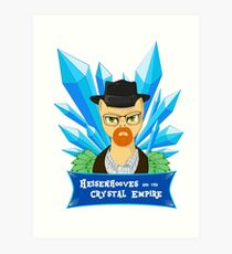 Heisenhooves - The Crystal Empire Art Print