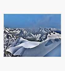 Mont Blanc. Photographic Print